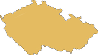 Czech Republic country outline
