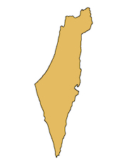 Israel country outline