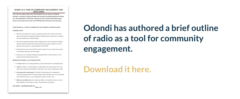 Download a tool for radio engagement written by Odondi