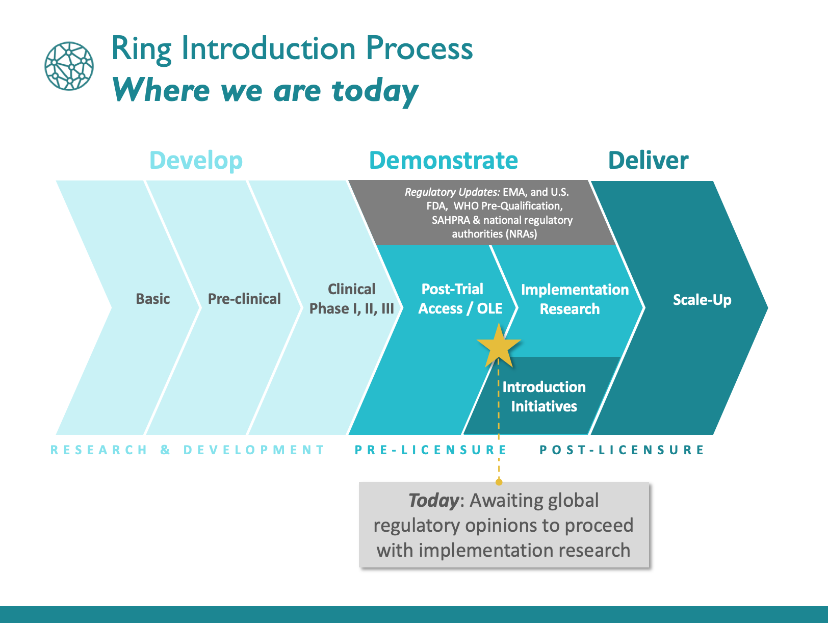 Overview of the ring introduction process